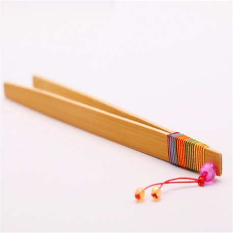 New,Bamboo Tongs w/t Twisted String Gongfu Tea Utensil,PJ01
