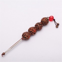 New,Dragon / Phoenix carving Bodhi Handle Tea Needle for Prying Pu-erh Tea Cake, tea Knife, PJ06