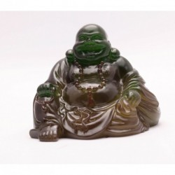 Allochroic Mascot, Green Buddha, Newness present, Ornament, tea pet,Fengshui, Best Gifts,will change color,