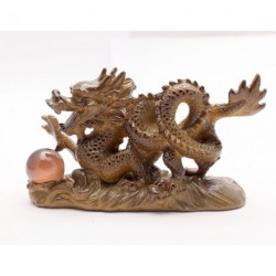 Amazing present, Allochroic Mascot, Dragon, Fengshui, Best Gifts, present,arts & Crafts,Ornament will change color,