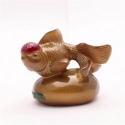 Allochroic Mascot, Gold Mony Allochroic Buddha, Fish, tea pet,