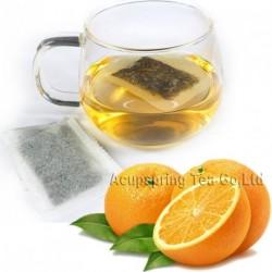 Fragrant Orange Flavor White Teabag,Baicha,Healthy tea