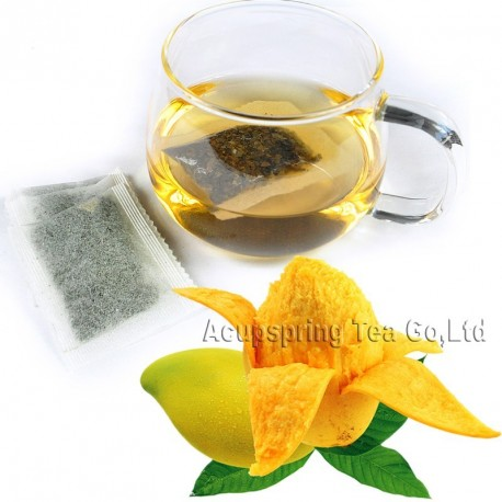 Fragrant Mango Flavor White Teabag,Baicha,Healthy tea