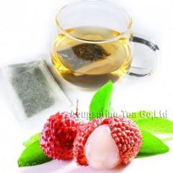 Fragrant Litchi Flavor White Teabag,Baicha,Healthy tea,