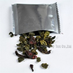 Roselle Tieguanyin,Natural herbal tea, lose weight,Chinese Oolong,Wu-long,slimming Tea