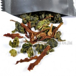 Michelia alba Tieguanyin,Natural herbal tea, lose weight,Chinese Oolong,Wu-long,slimming Tea