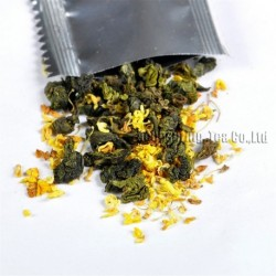 Osmanthus Tieguanyin,Natural herbal tea, lose weight,Chinese Oolong,Wu-long,slimming Tea