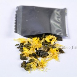 Golden Chrysanthemum Tieguanyin,Natural herbal tea, lose weight,Chinese Oolong,Wu-long,slimming Tea