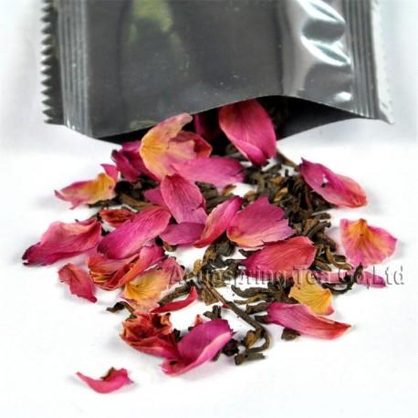 Rose Bud (red) Puerh Tea,New arrival, Natural herbal tea