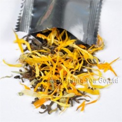 Marigold Puerh Tea,New arrival, Natural herbal tea
