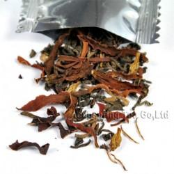 Michelia alba Puerh Tea,New arrival, Natural herbal tea