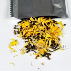 Golden Chrysanthemum Puerh Tea,New arrival, Natural herbal tea