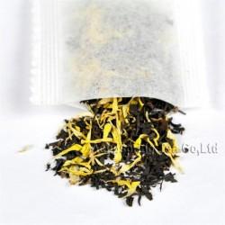 Golden Chrysanthemum Black Tea bag,Hongcha,Natural herbal teabag,
