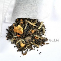 Hawthorn Fruit White Teabag,baicha,Natural herbal tea bag,