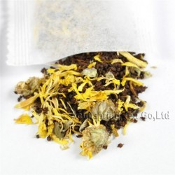 Golden Chrysanthemum Puer Tea bag,Pu-er,Natural herbal teabag