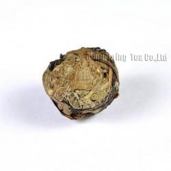 Mint White Tea,Organic 2006 aged White Peony,100% natural Chinese Herbal,Handmade Anti-age tea