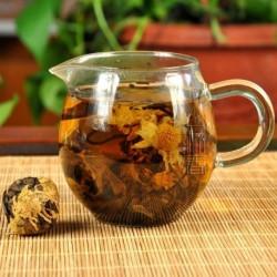 Hangzhou Chrysanthemum White Tea,Organic 2006 aged White Peony,100% natural Chinese Herbal,Handmade Anti-age tea
