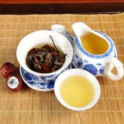 Michelia alba White Tea,Organic 2006 aged White Peony,100% natural Chinese Herbal,Handmade Anti-age tea