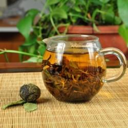Stevia White Tea,Organic 2006 aged White Peony,100% natural Chinese Herbal,Handmade Anti-age tea