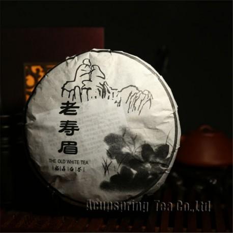 2005 year Aged White Tea, 300g Old White Shou Mei Tea,China Organic Big Leaf tea,Cha, lower cholestrol,100% natural food,CBJ27