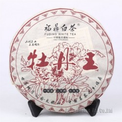 2015 Spring King of White Peony,357g Lower Cholesterol White Tea,Organic Baimudan,Famous Chinese Anti-age tea,100% Natural,CBJ13