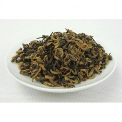 Premium Black BiLuoChun Tea, Tender Tea Bud, Black Snail Tea, Pi LoChun,Dianhong,Free Shipping