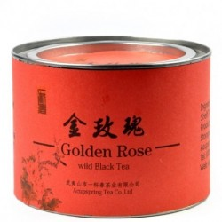 Super quality Golden Rose,50g Wild Black Tea,Chinese  Hong cha,Tin Gifts package,Free Shipping