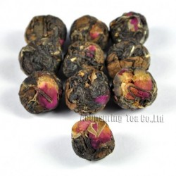 Rose Bud White Tea,Organic 2006 aged White Peony,100% natural Chinese Herbal,Handmade Anti-age tea