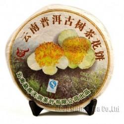 2008 Camellia Tea,357g Yunnan Puer,Raw Pu'er,Flower Puerh FloweSheng Pu-er Cha