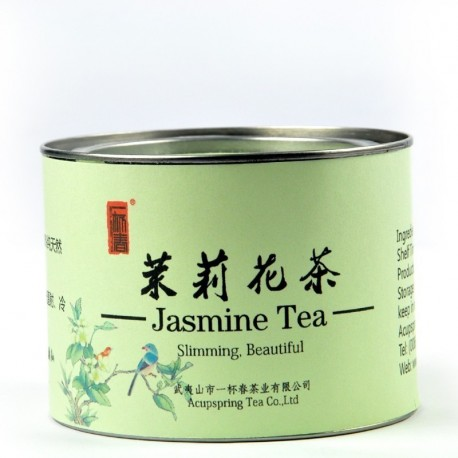 Tin gifts package,Jasmine Green tea,100% Natural Herbal tea,Slimming tea