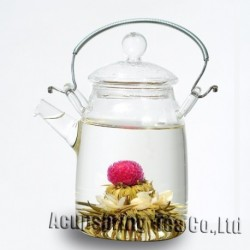 10pcs blooming flower tea, artistic tea, blossom flower tea, 100% natural,Promotion, Chinese tea