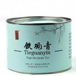 Top grade Tieguanyin tea,70g Chinese Anxi Tiekuan Yin tea,Oolong,Tin gift package