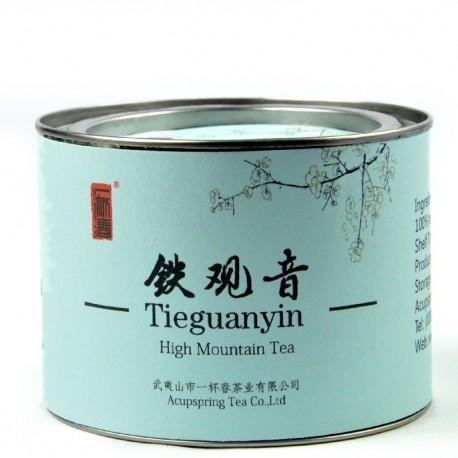 Top grade Tieguanyin tea,70g Chinese Anxi Tiekuan Yin tea,Oolong,Tin gift package