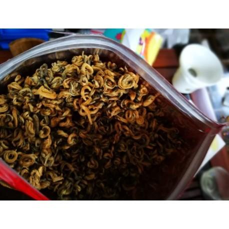 Top Quality Black BiLuoChun Tea, Tender Tea Bud, Black Snail Tea, Pi LoChun,Dianhong,Free Shipping