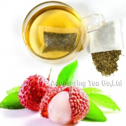 Litchi Flavor Tieguanyin Teabag,Early Spring Fruit flavor Oolong,Reduce weight tea bag