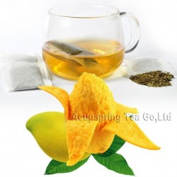 Mango Flavor Tieguanyin Teabag,Early Spring Fruit flavor Oolong,Slimming tea bag