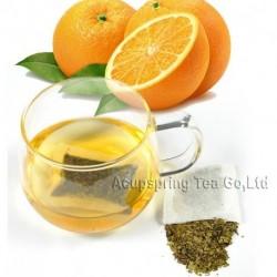 Orange Flavor Tieguanyin Teabag,Early Spring Fruit flavor Oolong Tea,Slimming tea bag