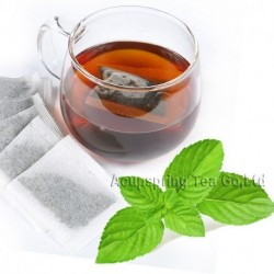 Mint Flavor Puerh Teabag,Reduce Weight Ripe Pu-erh,Delicious