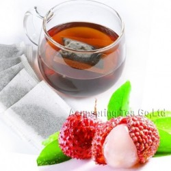 Litchi Flavor Puerh Teabag,Reduce Weight Ripe Pu-erh,Delicious