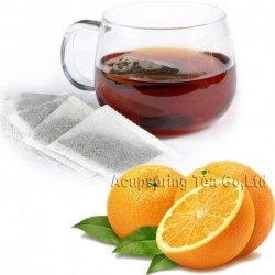 Orange Flavor Puerh Teabag,Reduce Weight Ripe Pu-erh,Delicious,