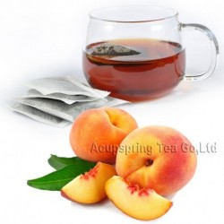 Peach Flavor Puerh Teabag,Reduce Weight Ripe Pu-erh,Delicious