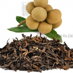Longan Flavor Puerh Tea,Fruit flavor Loose Leaf Pu'er,Reduce Weight Ripe Pu-erh,CTX804