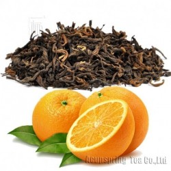 Orange Flavor Puerh Tea,Fruit flavor Loose Leaf Pu'er,Reduce Weight Ripe Pu-erh,CTX805