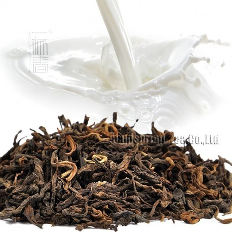Milk Flavor Puerh Tea,Fruit flavor Loose Leaf Pu'er,Reduce Weight Ripe Pu-erh,CTX800