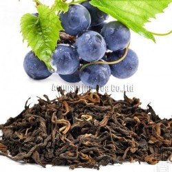 Grape Flavor Puerh Tea,Fruit flavor Loose Leaf Pu'er,Reduce Weight Ripe Pu-erh,CTX811