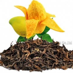 Mango Flavor Puerh Tea,Fruit flavor Loose Leaf Pu'er,Reduce Weight Ripe Pu-erh,CTX810