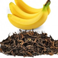 Banana Flavor Puerh Tea,Fruit flavor Loose Leaf Pu'er,Reduce Weight Ripe Pu-erh,CTX808