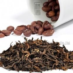 Coffee Flavor Puerh Tea,Fruit flavor Loose Leaf Pu'er,Reduce Weight Ripe Pu-erh,CTX816