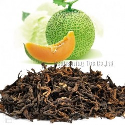 Cantaloupe Flavor Puerh Tea,Fruit flavor Loose Leaf Pu'er,Reduce Weight Ripe Pu-erh,CTX812