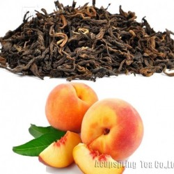 Peach Flavor Puerh Tea,Fruit flavor Loose Leaf Pu'er,Reduce Weight Ripe Pu-erh,CTX801